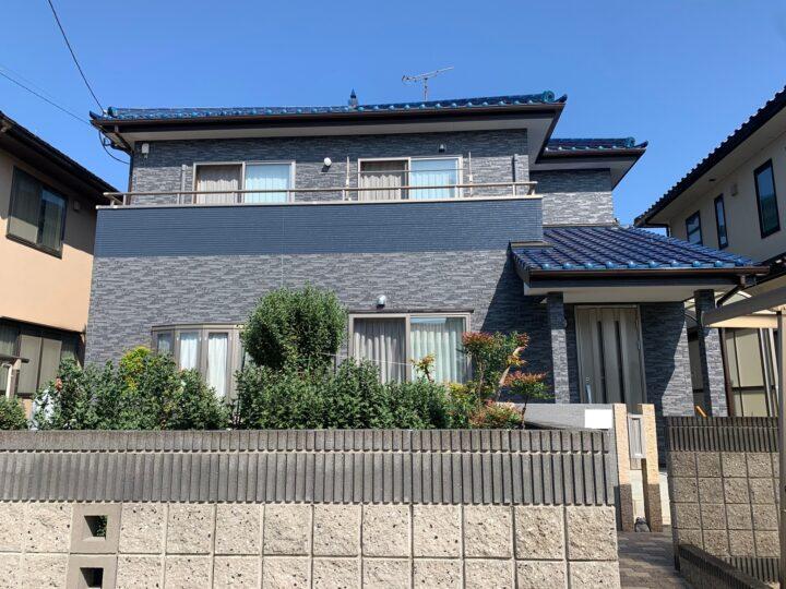 【香川県高松市】 M様邸 外壁塗装工事(タイル調仕上げ含む)