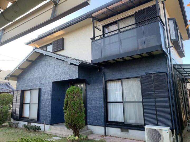 【香川県三豊市】 H様邸 外壁・屋根塗装工事