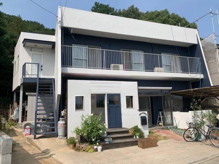 【香川県さぬき市】 M様邸 外壁塗装・屋上防水工事 屋上ウレタン通気緩衝工法