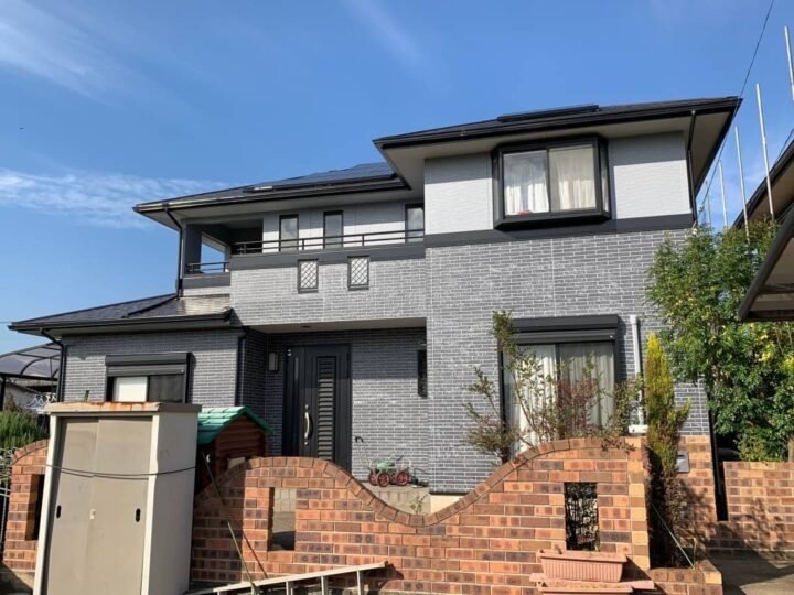 【香川県高松市】 T様邸 外壁・屋根塗装工事