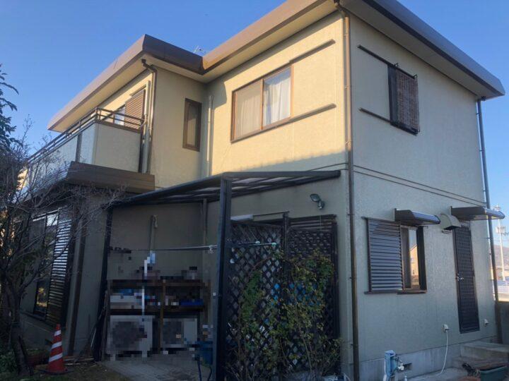 【香川県観音寺市】 Y様邸 外壁・屋根塗装工事