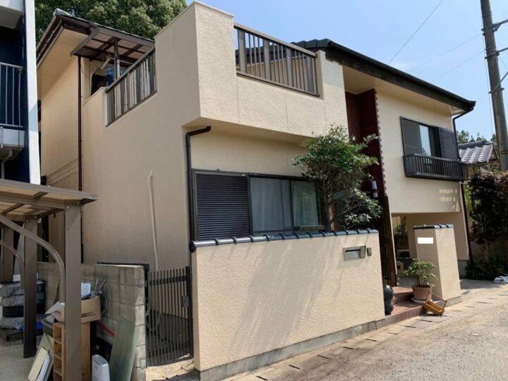 【香川県さぬき市】 K様邸 外壁塗装・ベランダ防水・屋根葺き替え工事