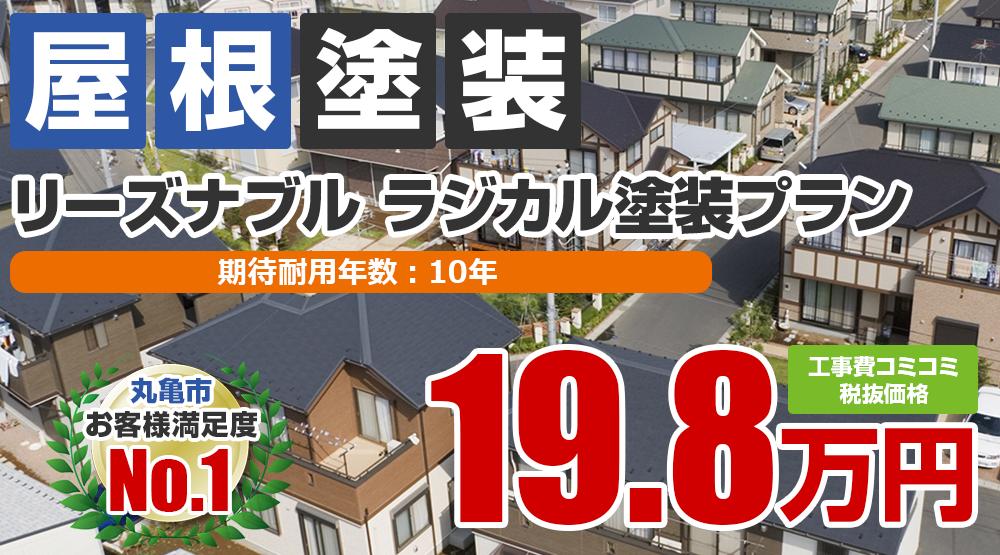 シリコンプラン塗装 198000円