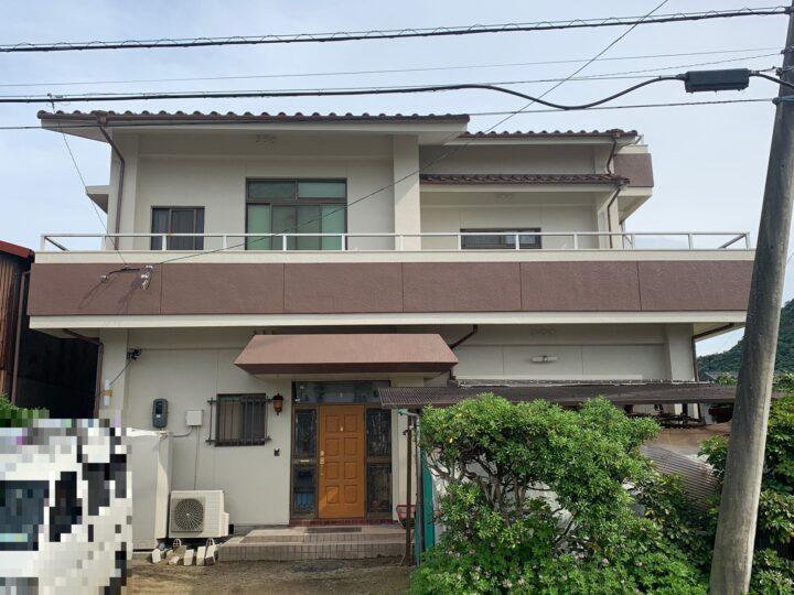 【香川県仲多度郡】 A様邸 外壁・屋根塗装工事/防水工事