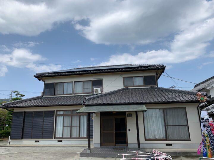 【香川県三豊市】 S様邸 外壁塗装工事