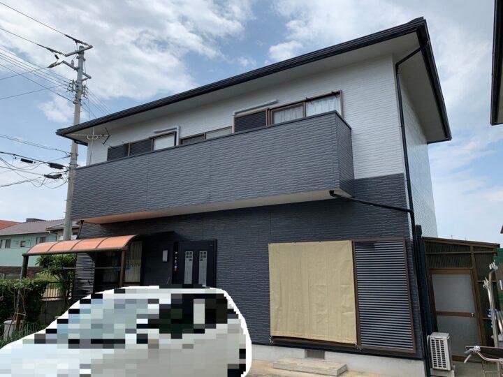 【香川県丸亀市】 F様邸 外壁塗装工事・屋根葺替え工事