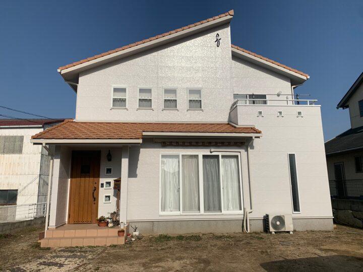 【香川県高松市】 T様邸 外壁塗装工事/ベランダ防水工事