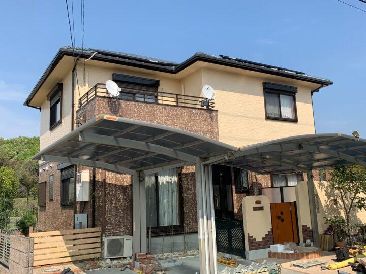 【香川県丸亀市】 F様邸 外壁塗装工事