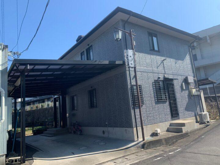 【香川県三豊市】 M様邸 外壁・屋根塗装工事(タイル調仕上げ含む)