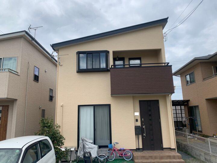 【香川県観音寺市】 T様邸 外壁・屋根塗装工事