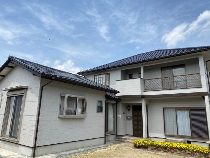【香川県丸亀市】 U様邸 外壁・屋根塗装工事