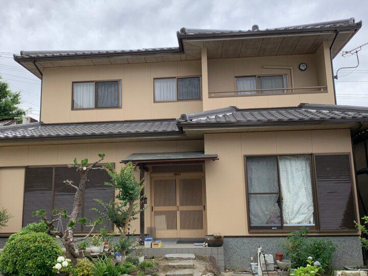 【香川県丸亀市】Y様邸 外壁塗装工事