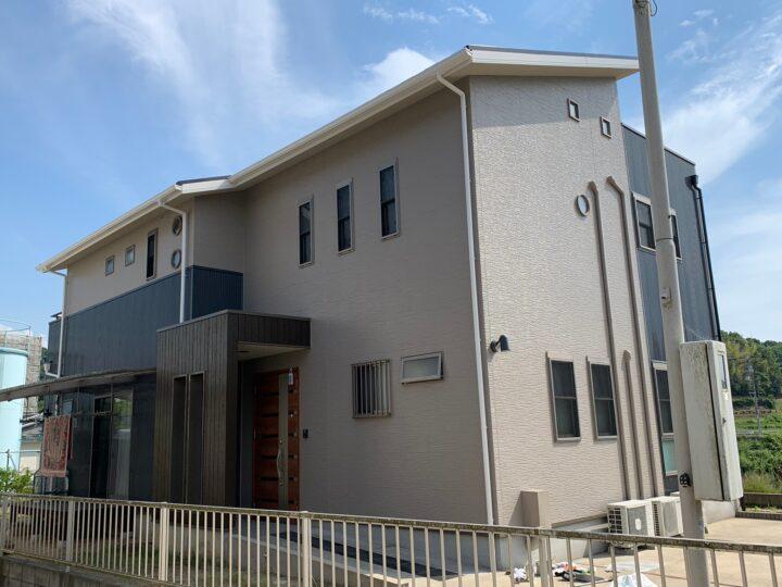 【香川県坂出市】O様邸 外壁・屋根塗装工事