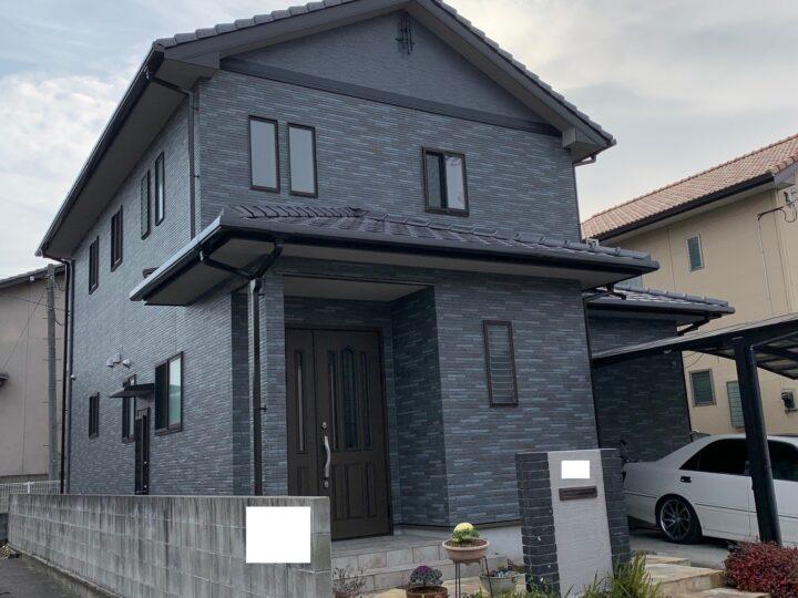 【香川県高松市】T様邸 外壁・外塀塗装工事/ベランダ防水工事