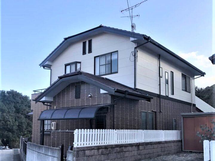 【香川県丸亀市】T様邸 外壁・屋根塗装工事/ベランダ防水工事