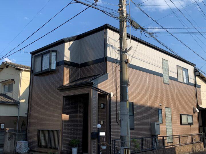 【香川県高松市】T様邸 外壁・屋根塗装工事(タイル調仕上げ含む)