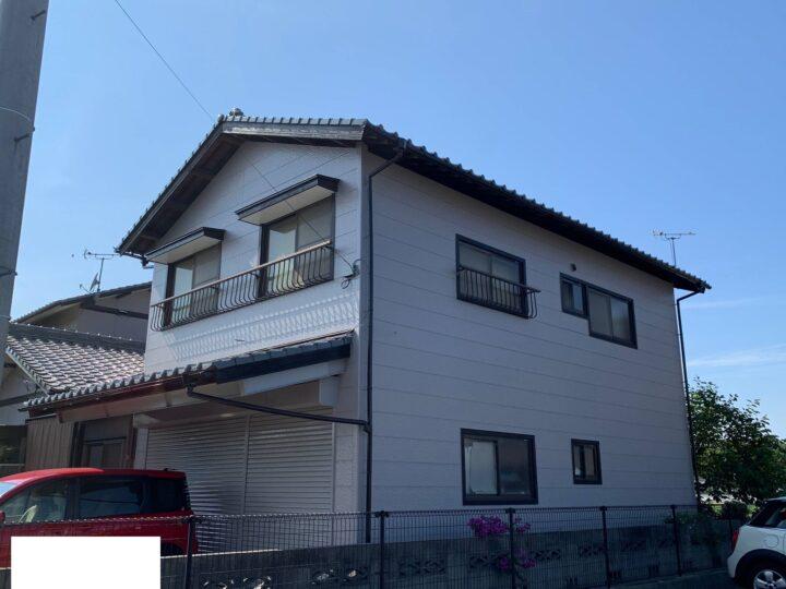 【香川県高松市】H様邸 外壁塗装工事
