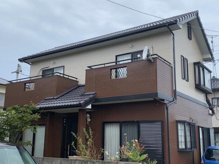 【香川県丸亀市】K様邸 外壁・屋根塗装工事/ベランダ防水工事