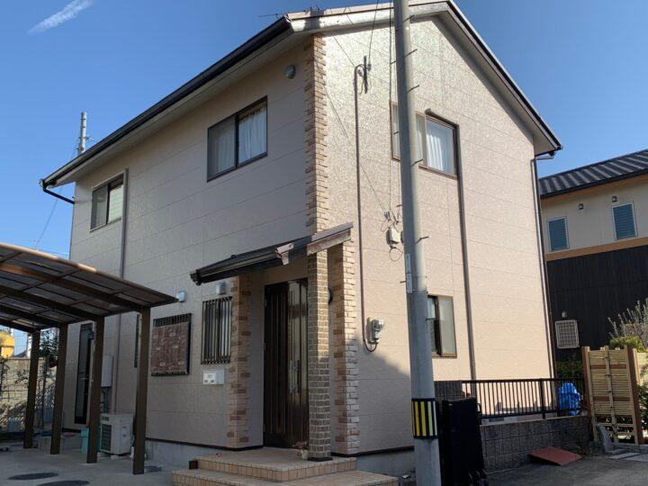 【香川県高松市】F様邸 外壁・屋根塗装工事/ベランダ防水工事