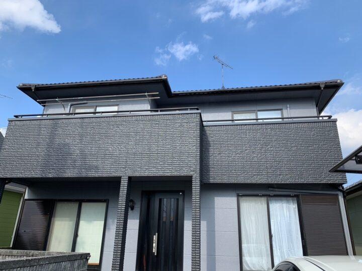 【香川県高松市】T様邸 外壁・屋根塗装工事/ベランダ防水工事
