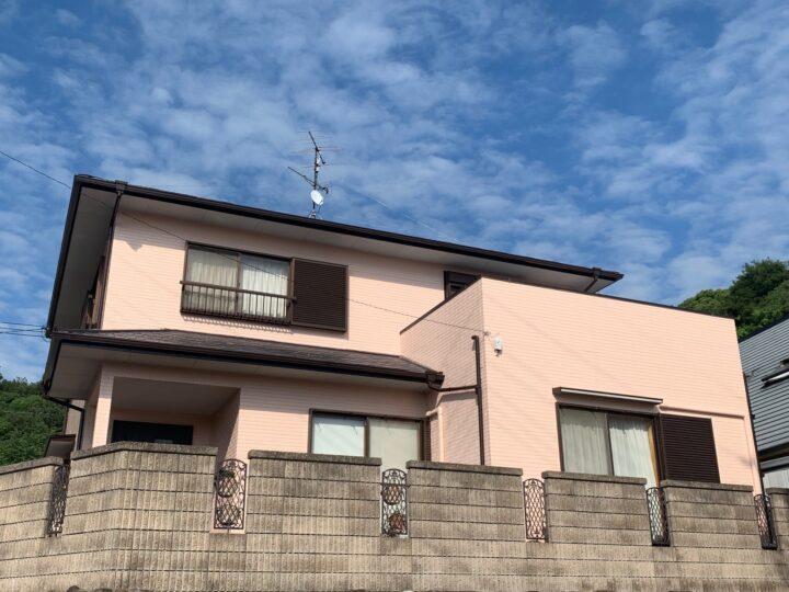 【香川県小豆郡】F様邸 外壁・屋根塗装工事/ベランダ防水工事