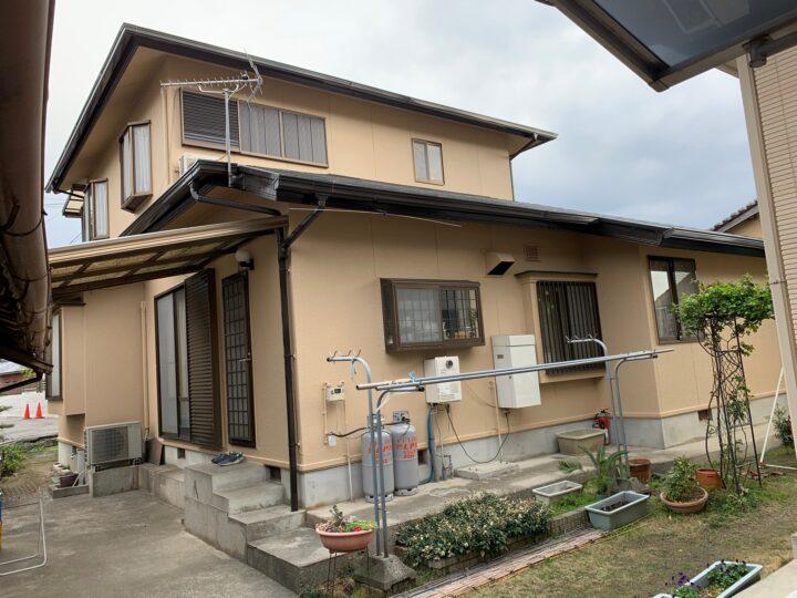 【香川県三豊市】K様邸(母屋・納屋)外壁・屋根塗装工事
