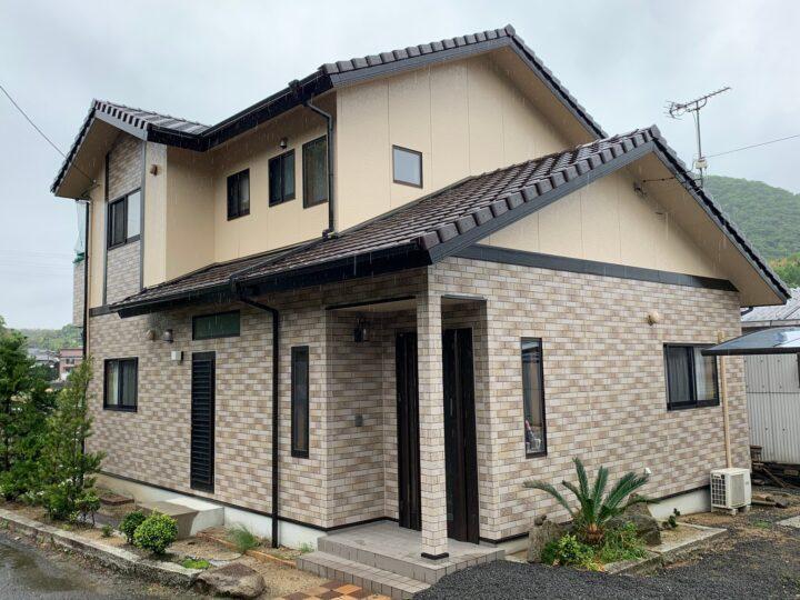 【香川県三豊市】M様邸 外壁塗装工事/ベランダ防水工事