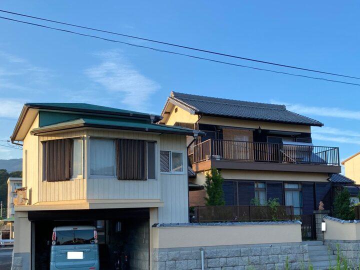 【香川県丸亀市】N様邸 外壁・外塀塗装工事