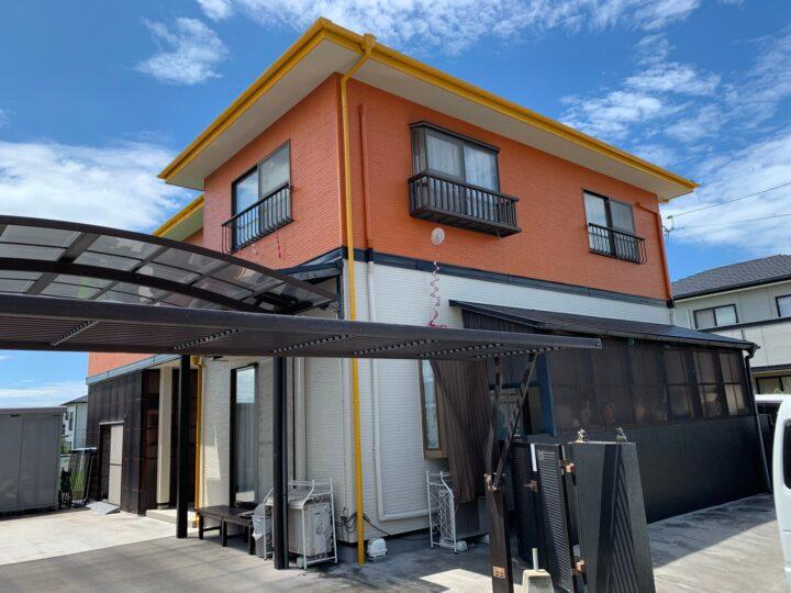 【香川県善通寺市】M様邸 外壁・屋根・外塀塗装工事